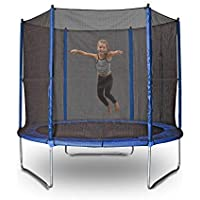Action Sports Action Everyday 8ft Trampoline, Black/Blue