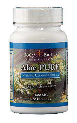 Body Biotics Aloe Pure 20 Capsules, 45 day -