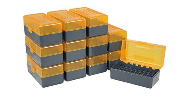 Smart Reloader SMARTRELOADER Caja de Municion #7, 50 municiones en Calibre .222 Remington - Pack Ahorro de 12 Cajas: Amazon.es: Deportes y aire libre
