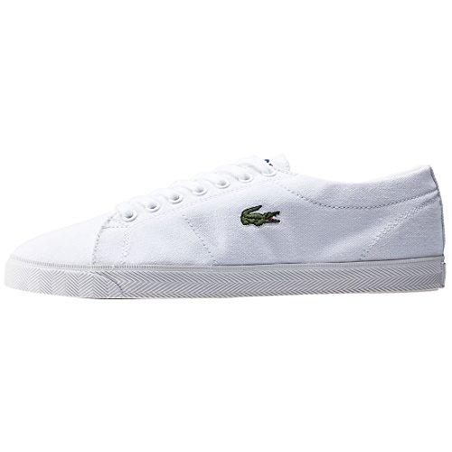 Lacoste MARCEL LCR2 - zapatilla deportiva de lona hombre blanco