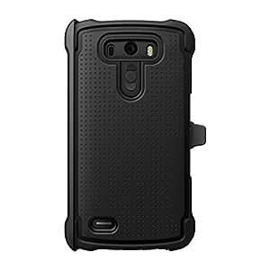 Ballistic LG G3 Tough Jacket MAXX Case - Black / Black ::LG D855 G3
