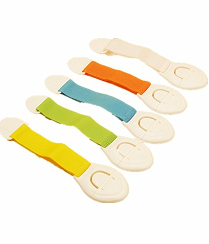 Borje Baby Adjustable Child Safety Locks Latches Straps - Toilet Seat Baby Proof