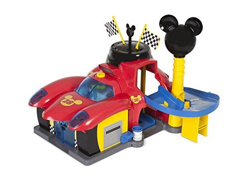 Disney Junior Mickey Mouse Transformable Hot Doggin Hot Rod Car 182813