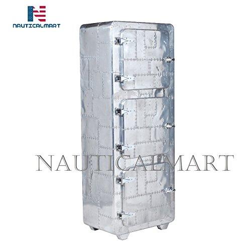 NAUTICALMART Armario 3 Puertas con diseño de Nevera: Amazon.es ...
