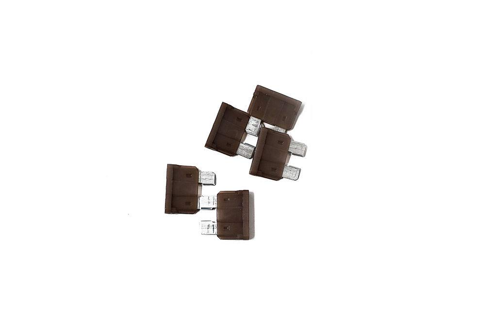 PLXParts 3 Amp Blade Fuse Direct Replacement for ED-AT5 ATO-5 ATC-5