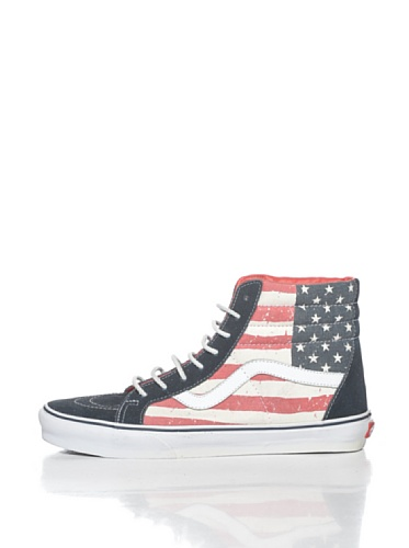 VANS Schuhe - Sneaker SK8-HI REISSUE - Distressed Flag red white blue (Distressed Flag) red / white / blue