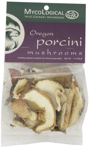 Mycological Dried Oregon Porcini Mushrooms, 1 Ounce Package ()
