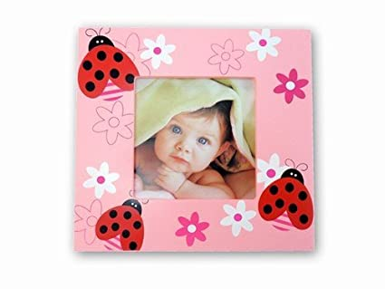 Amazon Ladybug 4x4 Picture Frame Home Kitchen