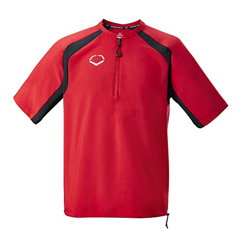 EvoShield Adult Pro Team BP Jacket, Scarlet - X-Large