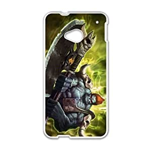 HTC One M7 Cell Phone Case White Sion league of legends KP2093069