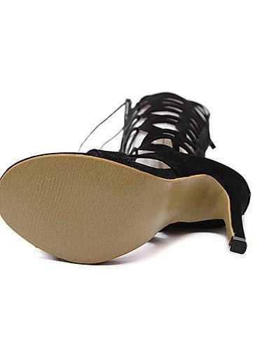 UK6 5 ® CN42 negro ZQ tacones 5 Scarpe ¨ Nero US8 Nero EU39 vell casual di EU39 UK6 ¨ stiletto n tacones mujer CN41 ® tac n US8 rUFBUXq