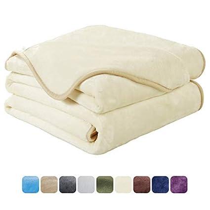 Amazoncom Easeland Soft King Size Blanket All Season Winter Warm