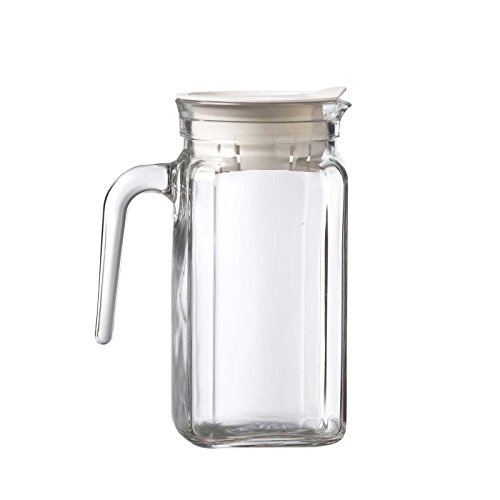 (Global Amici Igloo Quadra Pitcher with Lid, 17 oz, Clear)