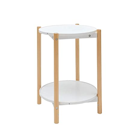 Amazon.com: C-Bin1 - Mesa de madera para sofá o sala de ...
