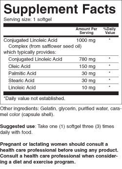 Iron Tek Essential CLA Pure Tonalin Complex 1000 mg, 90-Count by Iron-Tek