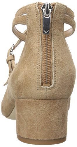 cheap sale explore Via Spiga Women's Adonna Mary Jane Pump Sand Suede cheap sale nicekicks low price fee shipping cheap price free shipping recommend vf75yT55w