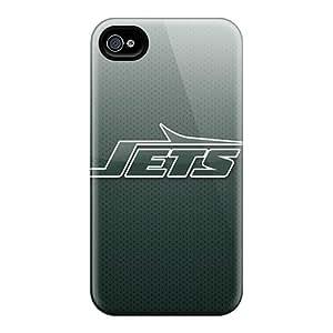 AnnaDubois Iphone 6plus Anti-Scratch Hard Phone Cover Custom Stylish New York Jets Pattern [aNt18722CafR]