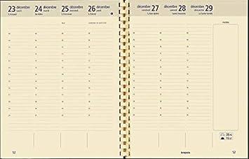 Brepols - 1 Recambio agenda extra-large optivision, janv. a ...