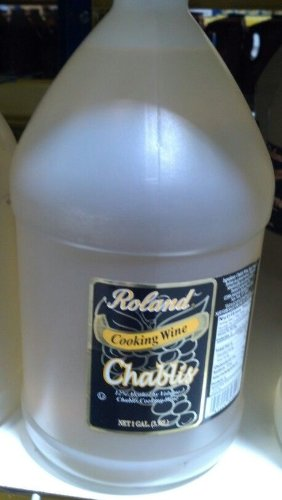 Roland: Chablis Cooking Wine 1 Gallon (4 Pack)
