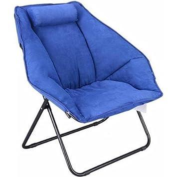 Best Comfort Hexagon Saucer Chair Mainstays, Blue