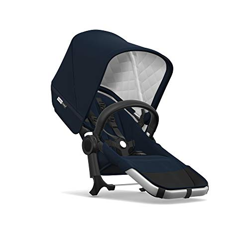 - Bugaboo Donkey2 Classic Collection Duo Extension Set, Alu/Dark Navy - Expand from a Single to a Double Stroller. Includes Duo Extension Adapter, a Toddler Seat, Sun Canopy & Rain Cover
