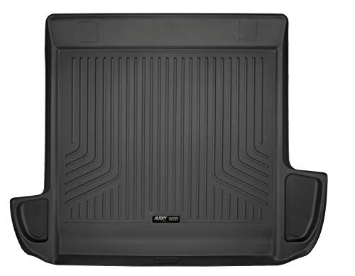 Rear Deck Carpet Cover - Husky Liners 25721 Black Liner Fits 10-19 Toyota 4Runner Standard Area (No 3rd seat or Sliding Cargo Deck)