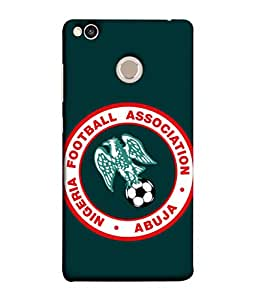 ColorKing Football Nigeria 05 Green shell case cover for Xiaomi Redmi 4X