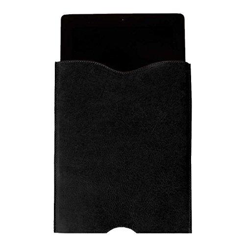 Ipod 3g Hard Skin (Durable Leather iPad Sleeve (for iPad Air & iPad Air 2) Handmade by Hide & Drink :: Charcoal Black)