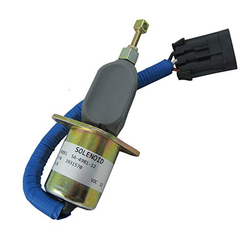 JEM&JULES New Fuel Shut Off Solenoid for 94-98 5.9L Dodge Diesel Cummins 3931570 5016244AA ()