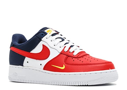 Nike Air Force 1 07 LV8 Men's Shoes University RedUniversite Rogue 823511 601