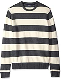 Men's Newport Fine 7 Gauge Stripe Crew Sweater