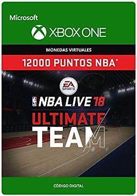 NBA LIVE 19: NBA UT 12000 Points Pack - Xbox One - Código de descarga: Amazon.es: Videojuegos