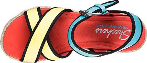 corazones rompe Skechers de Multicolor Ankle Sandalias mujer Strap tIzT4