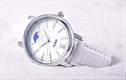 Amazon.com: Reloj De Mujer Women Casual Quartz Wristwatch Relogio Feminino Para Damas RE0070: Watches