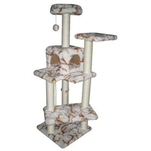 Fashion 60 Cat Tree Condo Furniture Scratch Post Pet Hous...