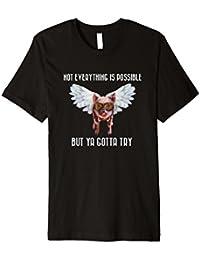 Ya Gotta Try - Flying Pig Shirt - Light Text