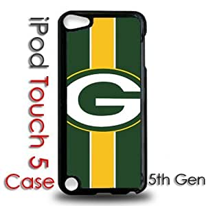IPod 5 Touch Black Plastic Case - Greenbay Packers Football