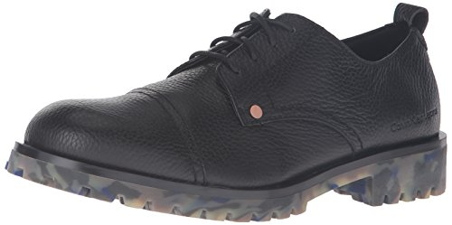 CK Jeans Mens Nox Grainy Oxford Black