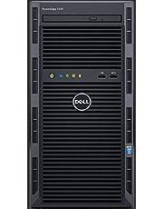 جهاز ديل - بور ايدج T130  بمعالج انتل زيون E3-1220v5 سعة 4 جيجابايت رام، قرص صلب سعة 1 تيرابايت، DVDRW وسرعة 3.0 جيجاهيرتز