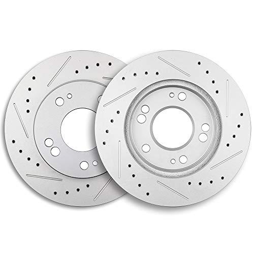 Brake Rotors,ECCPP 2pcs Front Brake Discs Rotors Brakes Kits fit for 1995-2005 Chrysler Sebring,Dodge Avenger/Stratus,1990-1998 Eagle Talon,Mitsubishi Eclipse/Galant,1990-1994 Plymouth -