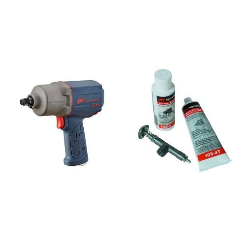 "Ingersoll Rand (2235TIMAX) 1/2"" Drive Air Impact Wrench with Impact Lube Kit For Metal Housing Impacts"