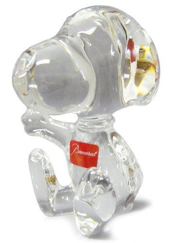 Baccarat Snoopy figure