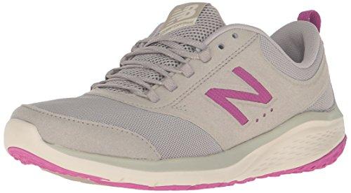(New Balance Women's 85v1 Walking Shoe, Tan/Jewel, 8.5 B)