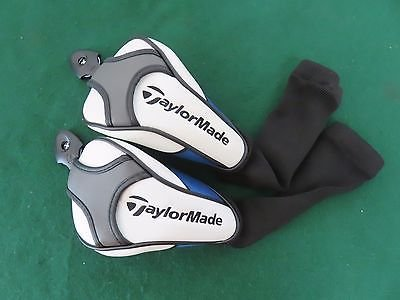 - NEW Set of 2 TaylorMade SLDR / JETSPEED WOOD Headcover - Black Sock