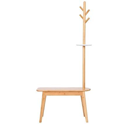 Percheros Burro-Perchero De Madera De Bambú De La Suspensión ...