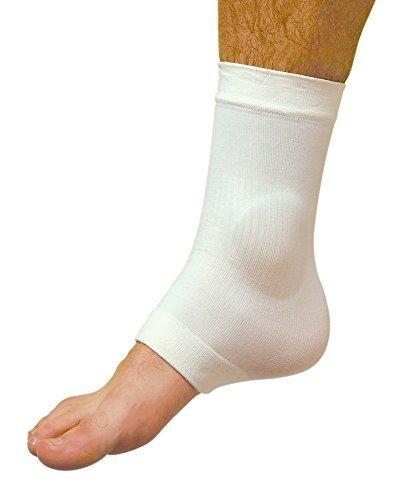 Ankle Bone Malleolar Gel Sleeve, 1 Pair, by Atlas Biomech...