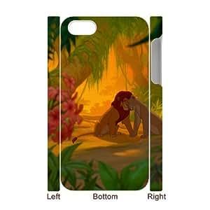C-EUR Diy hard Case Lion King customized 3D case For Iphone 4/4s