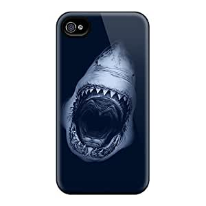 For Iphone Cases, High Quality Shark Jaws For Iphone 6 Covers Cases wangjiang maoyi by lolosakes