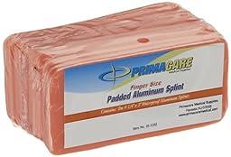 Primacare IS-5202 Padded Aluminum Finger Splint (Pack of 10)