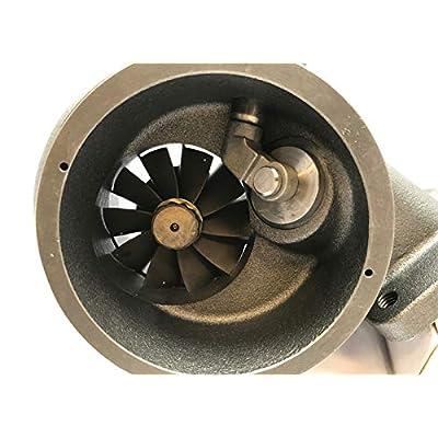 Turbo Lab America Holset HE351CW turbine housing and 67mm shaft upgraded: Automotive